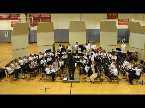 "McDougle Middle School 6th Grade Band Performs ""Enchanted Village"" by Sean O'Loughlin"