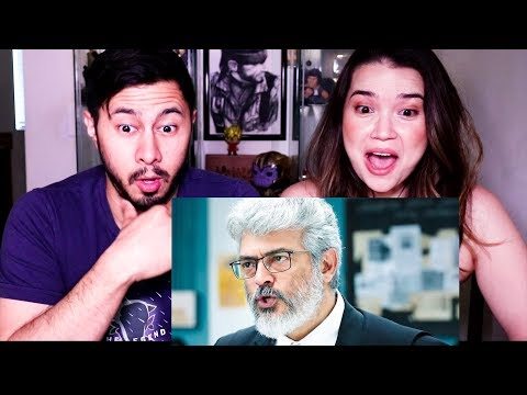 NERKONDA PARVAAI |  Ajith Kumar | Shraddha Srinath | Trailer Reaction by Jaby Koay & Achara Kirk!