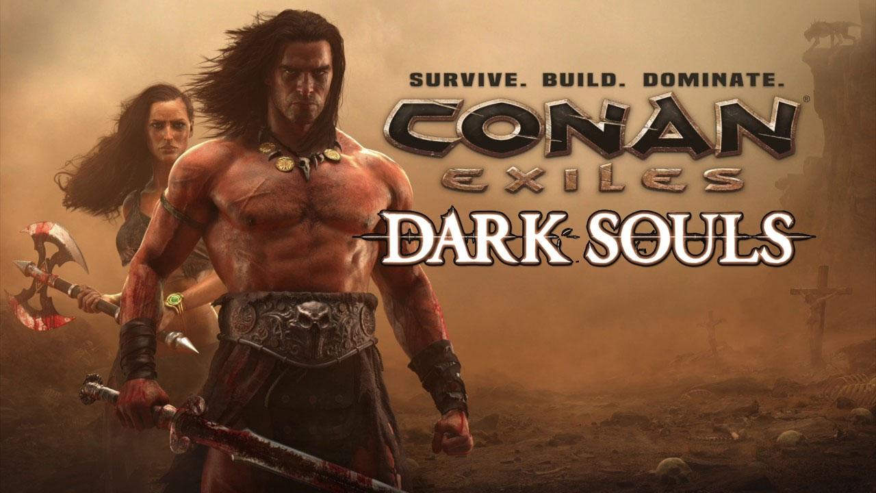 [FR-ENG] Conan exiles Dark souls mod ( the best mod )