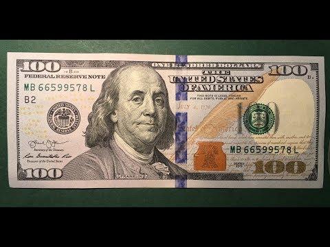 US $100 Bill 2013
