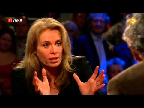 Wouter Bos geniet zichtbaar van Frederique van der Wal Pauw & Witteman 6 november 2012