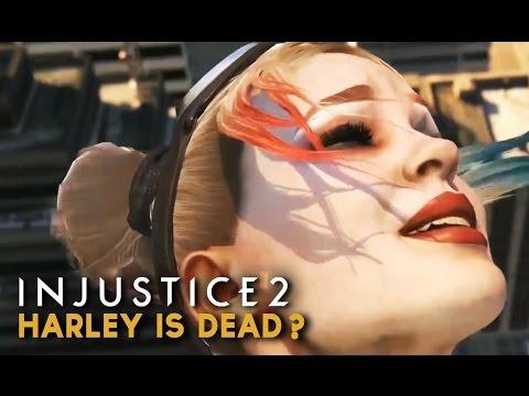 Injustice 2 - Wonder Woman Kills Harley Quinn (Harley Quinn Dead?)