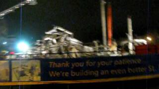 Paterson, NJ Building Collapse 10-27-09 *Part 1*