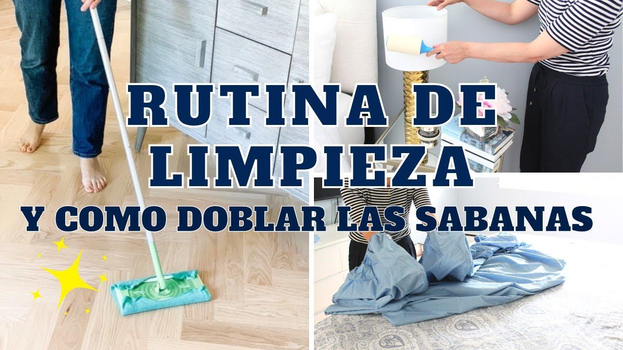 RUTINA DE LIMPIEZA! Limpia conmigo toda la casa | Experta en Limpieza