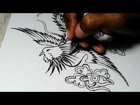 440+ Gambar Batik Hewan Burung Terbaru