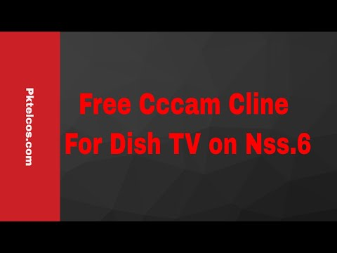 Free Cccam Cline For Dish TV on Nss 6