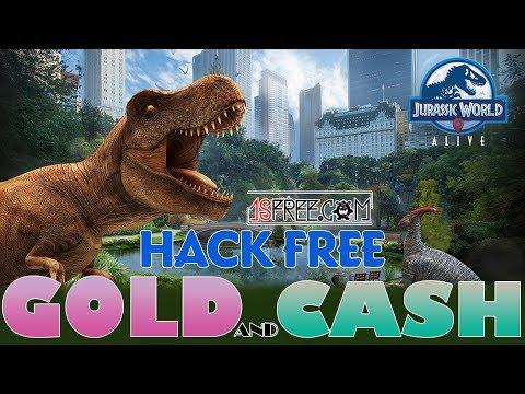 hack cash jurassic world alive