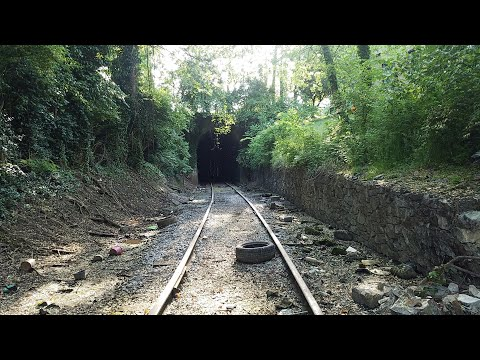 Abandoned Train Tunnel Hidden In Downtown Knoxville, TN