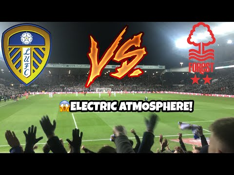 LEEDS UNITED 1-1 NOTTINGHAM FOREST - ELECTRIC ATMOSPHERE + LIMBS (27/10/18)
