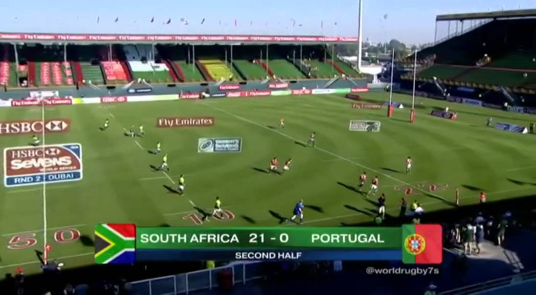 Emirates Airline Dubai Rugby Sevens 2014 - South Africa vs ...