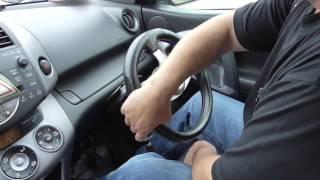 Как вращать руль в сложных ситуациях.