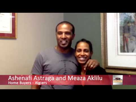 Ashenafi Astraga and Meaza Aklilu -  Algiers First Time Home Buyers