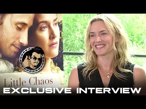 Kate Winslet Interview - A Little Chaos (HD) 2015