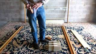 Dapwood Furniture Co. Cirrus Sky Bed Frame Assembly Video