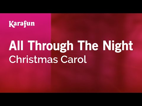 Karaoke All Through The Night - Christmas Carol *