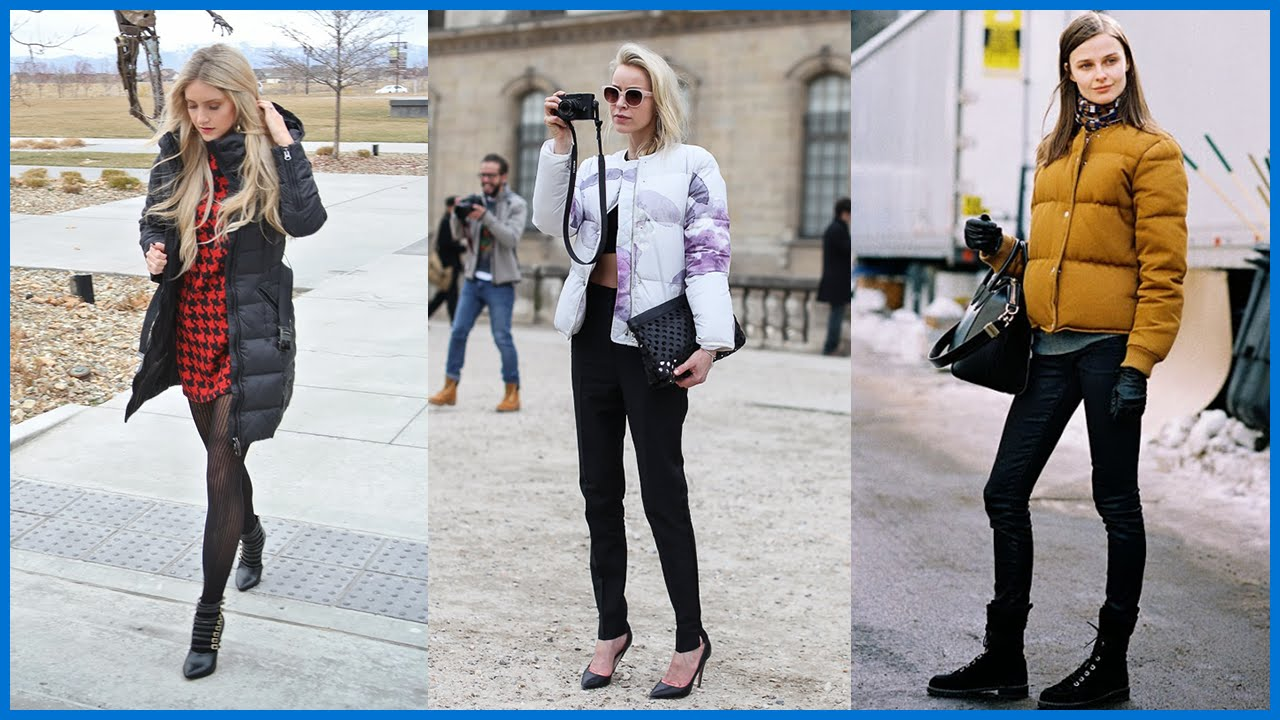How To Wear The Puffer Jacket