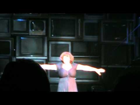 Susan Boyle surprise appearance being announced I Dreamed A Dream Musical Edinburgh