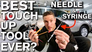 Best_Car_Paint_Touch_up_Tools_Tips_Tricks_with_Needle_and_Syringe_Subaru_Outback