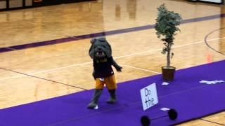 Mascot Tryouts Spike 2015
