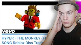REACTING TO ANOTHER DISS TRACK ON ME?! (Roblox Diss Track)
