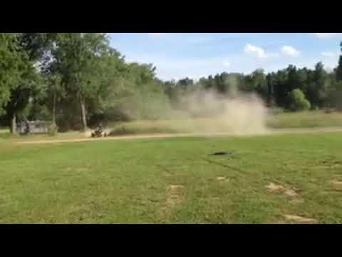 Me Chasing Daren Slone In My Go Cart At Butler Speedway