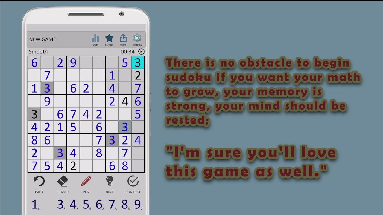 Sudoku Number Puzzles - Free Classic Sudoku Puzzles