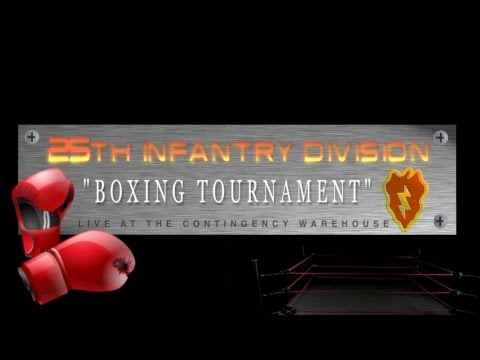 25th Infantry Division Boxing Tournament
