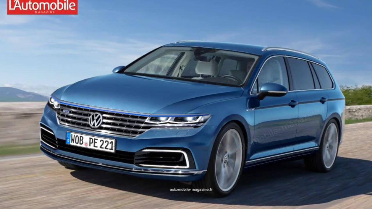 New 2018 Vw Passat Youtube