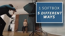 5 WAYS TO USE A SINGLE LIGHT -  [Lighting Tutorial]