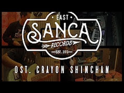 Shinchan Opening Indonesia (Rock Version) Cover by Sanca Records