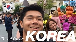 travel diary korea 2016