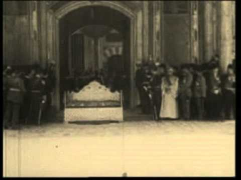 Crowning of Mehmed VI as last Sultan of the Ottoman Empire in 1918