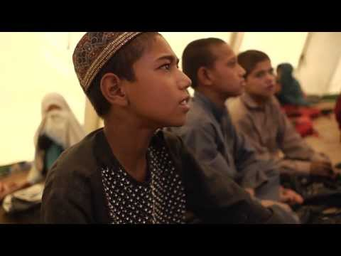 Building a future: Education for conflict-displaced children in Afghanistan