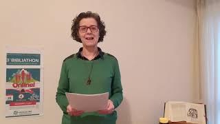 Video 04 - Bibliathon Introducción a la 1ª parte (Edurne)
