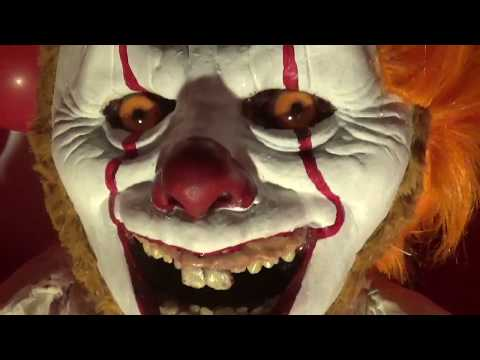 TERRIFYING Pennywise the Clown IT Teddy Bear - Quiet Room Bears
