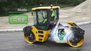 Volvo DD105 asphalt compactor: power to perform