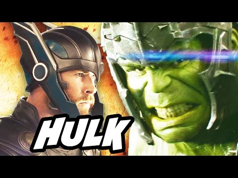 Thor Ragnarok Trailer Hulk Easter Eggs and Why Thor Fights Explained