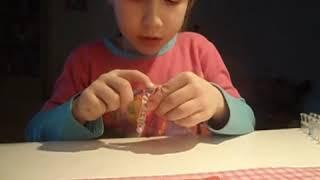 плетение из резиночек 1 урок