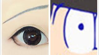 Jyushimatsu Matsuno | Tutorial : Anime Eye Makeup 226 thumbnail