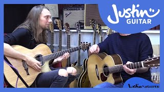 Mike Dawes & Justin explore The ToneWood Amp - demo, presets and jammin!