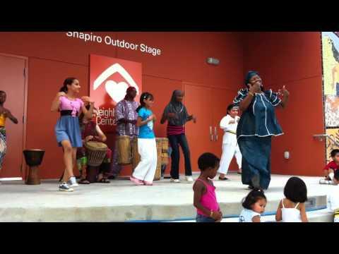 African dance children demo