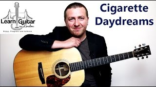 Cigarette Daydreams - Guitar Lesson - Cage The Elephant - How To Play