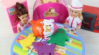 Aşçı Chelsie Arkadaşlarına Kurabiye Hazırlıyor Çocuklar için Diş Fırçalama Oyunu Eğitici Oyunlar