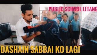 Sabbai ko lagi dashain || Letang library || Vlog 10
