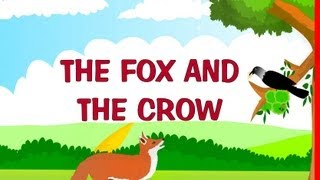 The fox and the crow | Kindergarten story for kids