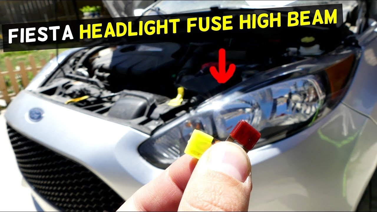 hight resolution of ford fiesta high beam headlight fuse mk7 st