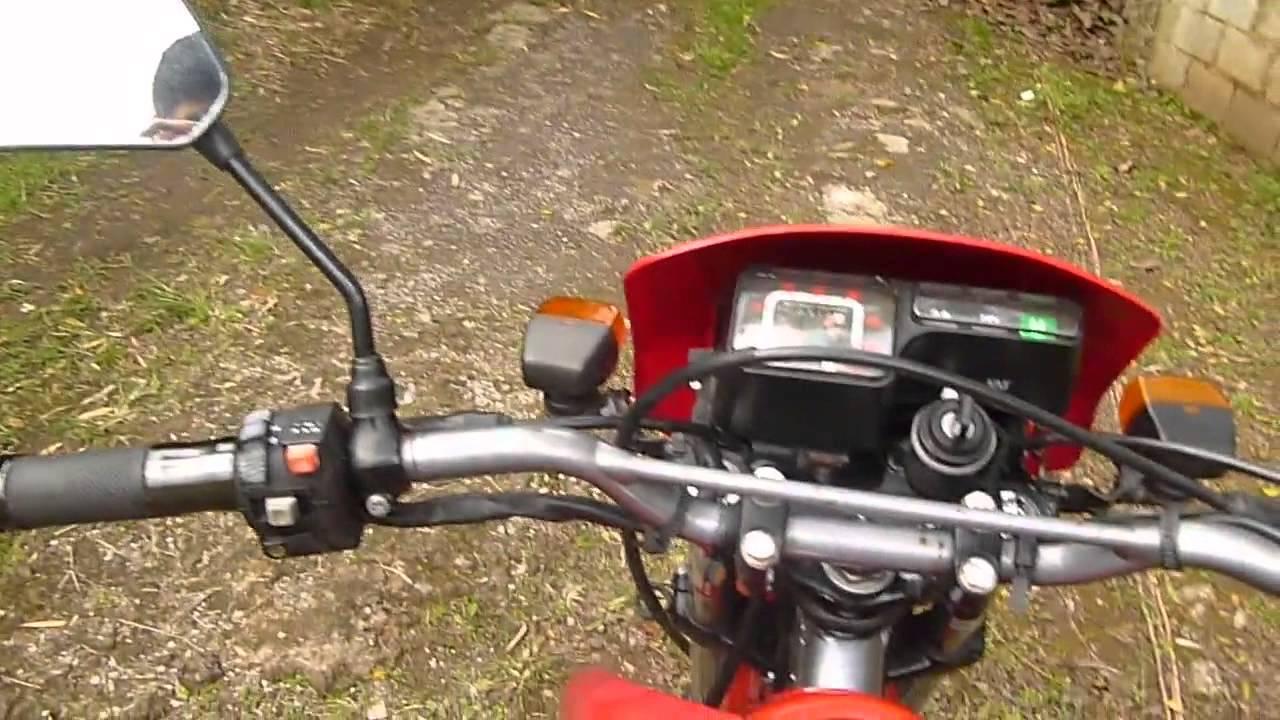 Honda Xlr 125 Youtube
