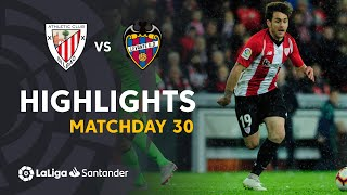 Highlights Athletic Club vs Levante UD (3-2)