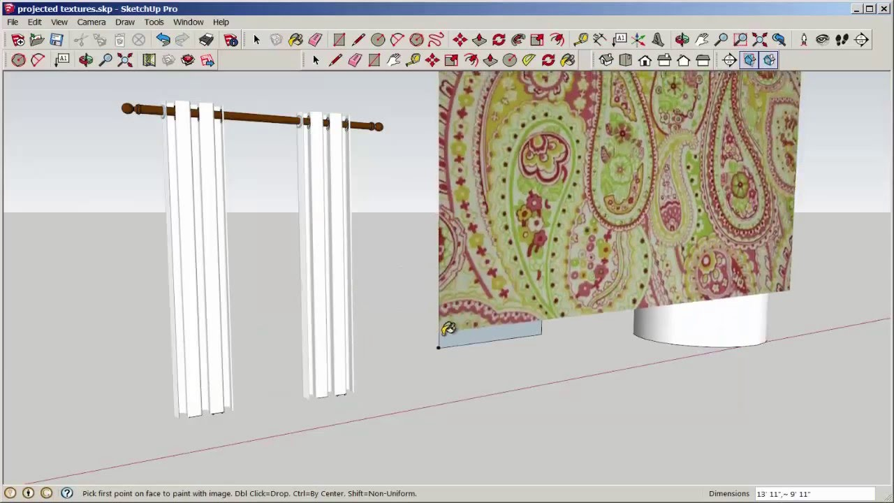 SketchUp Texture and Add Text To Curved Surfaces YouTube