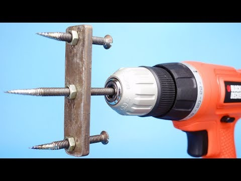 Wow! 3 Drill Machine Life Hacks You Should Know
